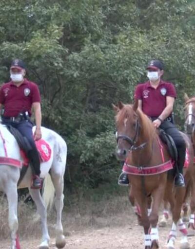Altı polisler Aydos'ta denetimde | Video