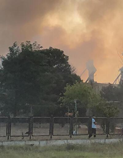 Son dakika... Tekirdağ'da boya fabrikasında büyük yangın