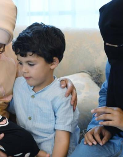 Suriyeli Muhammed bebek, Emine Erdoğan'ın misafiri oldu!