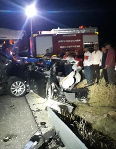 Son dakika haberi: Mardin'de korkunç kaza! 5 ölü, 2 yaralı