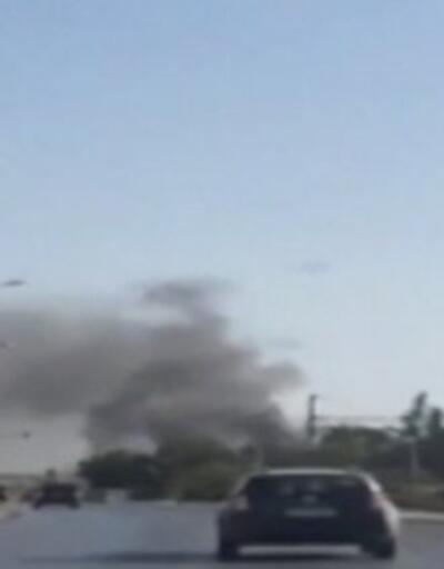 İzmir'de tekstil fabrikasında yangın çıktı. Yangına müdahale sürüyor | Video