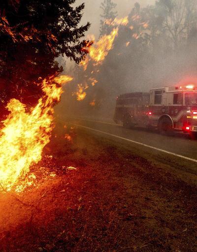 California'daki yangınlar devam ediyor! Gökyüzü turuncuya büründü