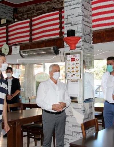 Bucak'ta koronavirüs denetimi