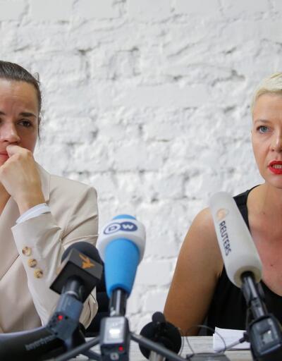 """Belaruslu muhalif lider Kolesnikova: """"Başıma çuval geçirip kaçırmaya çalıştılar"""""""