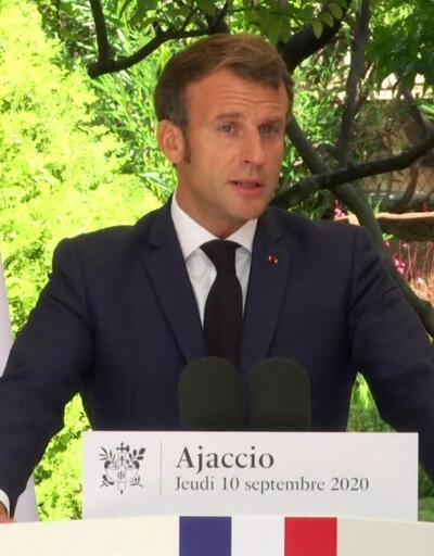 Macron'dan Doğu Akdeniz mesajı   Video