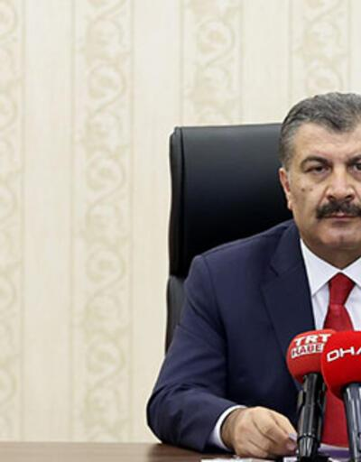 Son dakika haberi... Sağlık Bakanı Fahrettin Koca: Türkiye genelinde yoğun bakım doluluk oranı yüzde 67