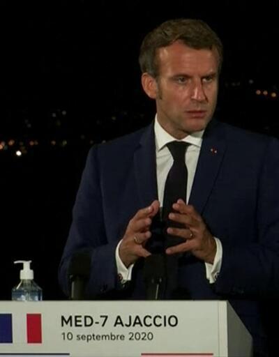 Macron'dan çelişkili açıklamalar   Video