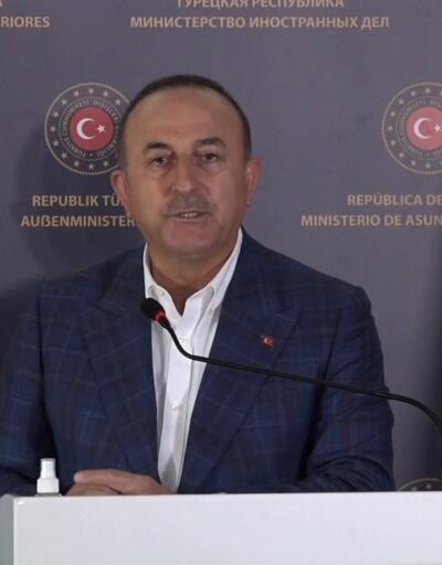 Çavuşoğlu: Haklı olan masadan kaçmaz   Video