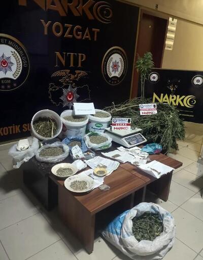 Yozgat'ta uyuşturucu operasyonu: 1 gözaltı