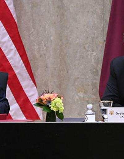 ABD-Katar 3. Stratejik Diyalog Toplantısı Washington'da yapıldı