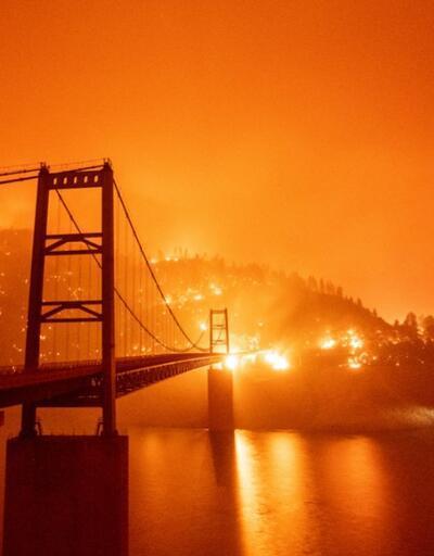 """Trump'tan haftalardır süren California yangınlarına yorum: """"Tekrar soğumaya başlayacak"""""""