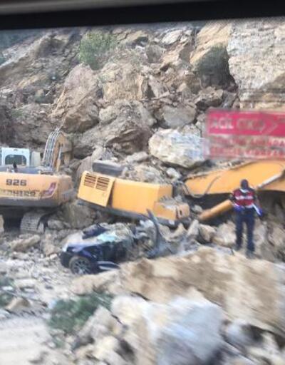 Son Dakika Haberleri:  Otomobilinin üzerine kaya düşen bekçi öldü | Video
