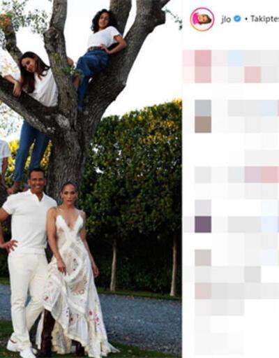 Jennifer Lopez'den yaza veda pozu