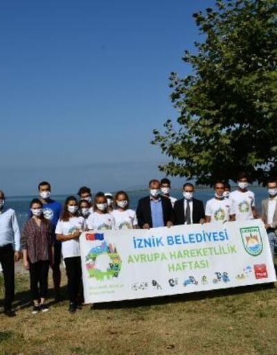İznik'te Hareketlilik Haftası etkinlikleri başladı