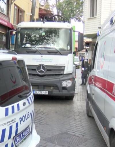 Çöp kamyonunun çarptığı kadın öldü | Video