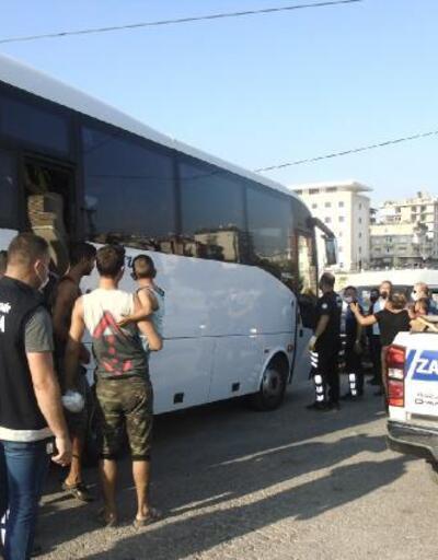 Son dakika.. Hatay'da 'konar göçer' dilenciler, kent dışına çıkarıldı