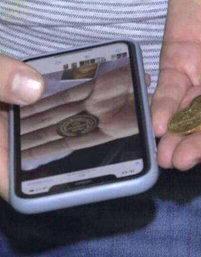 31 bin liralık altını temizlik görevlisi buldu | Video