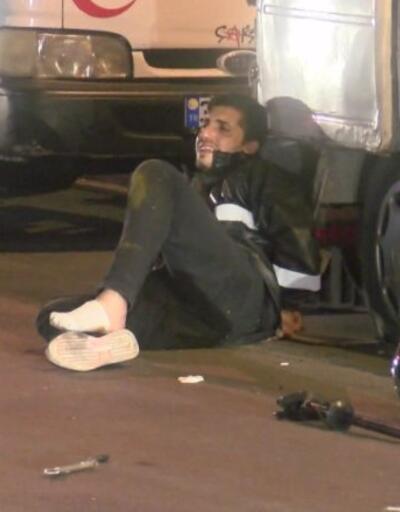 Hırsız polis kovalamacası kazayla sonuçlandı | Video
