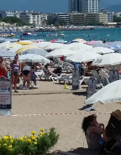 Didim'de plajlar doldu taştı