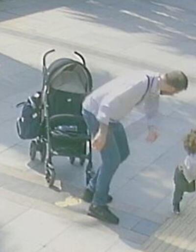 Son dakika... Bebek arabasından düşen çocuğuna şiddet uygulayan baba gözaltına alındı | Video