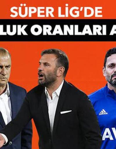 Son dakika... Süper Lig şampiyonluk oranları güncellendi!