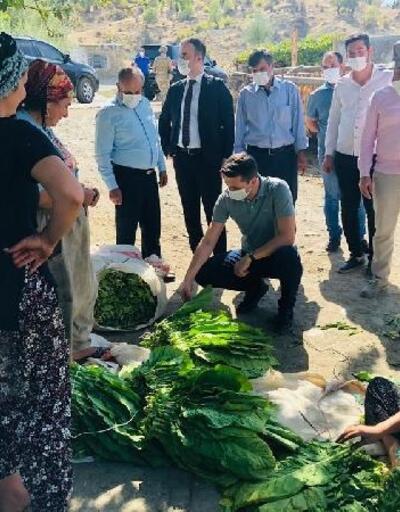 Kaymakam Serin, çiftçilerle bir araya geldi