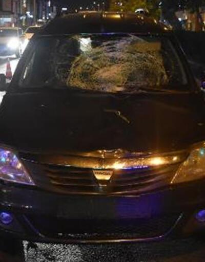 Otomobilin çarptığı yaya, ağır yaralandı
