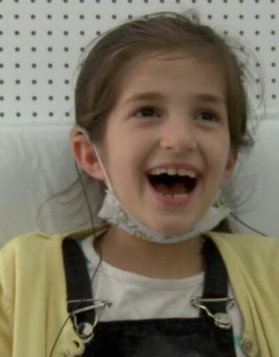 10 yaşında ilk kez duydu... Yaşadığı heyecan herkesi duygulandırdı | Video