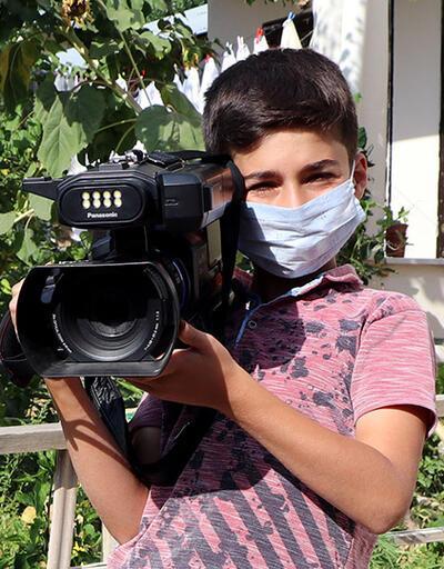 Karton kamerasıyla tanınmıştı, çektiği görüntülerle belgesel yapacak