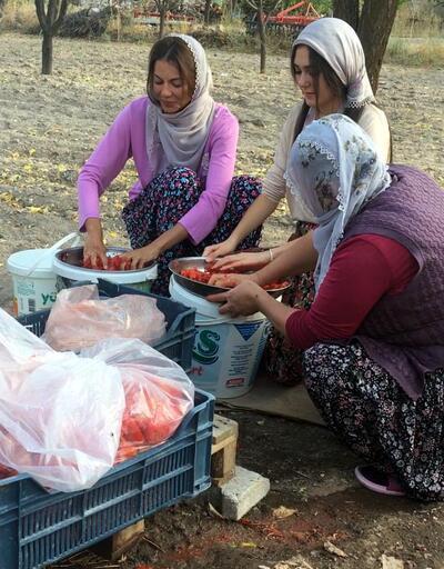 Kapadokya'da mankenler bağ bozumuna katıldı
