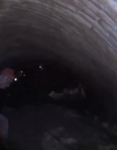 Son dakika.. Ayasofya Camii'nin altındaki gizemli tüneller görüntülendi