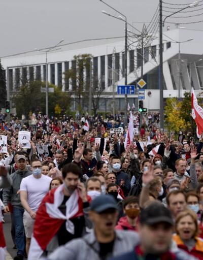 Belarus'ta cumhurbaşkanlığı seçim sonuçlarına karşı protestolar sürüyor