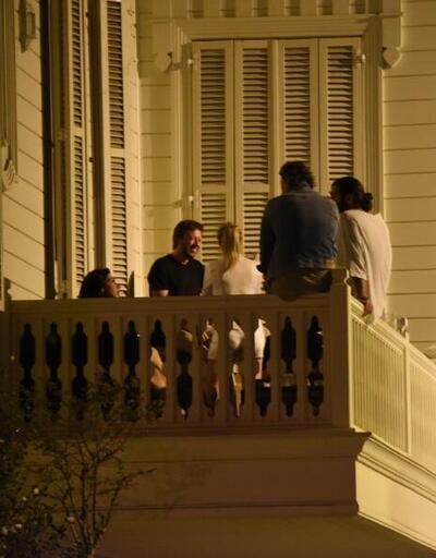 Caner Karaloğlu villasında 100 kişilik parti düzenledi! Polis kapıya dayandı