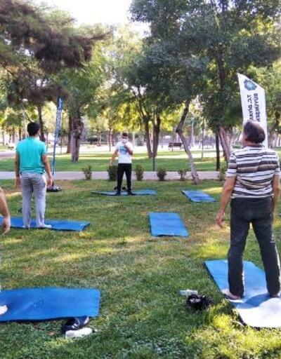 Büyükşehir Belediyesi'nin sabah sporlarına yoğun ilgi