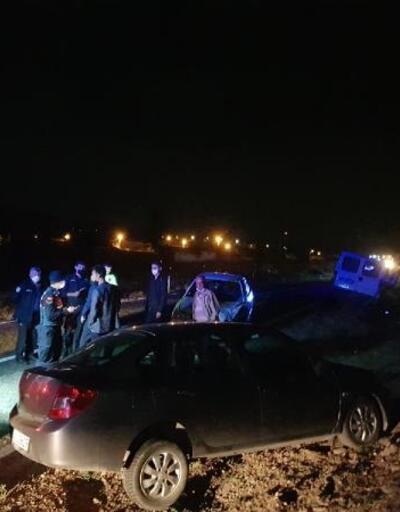 Domaniç'te 3 araç kaza yaptı: 1 yaralı