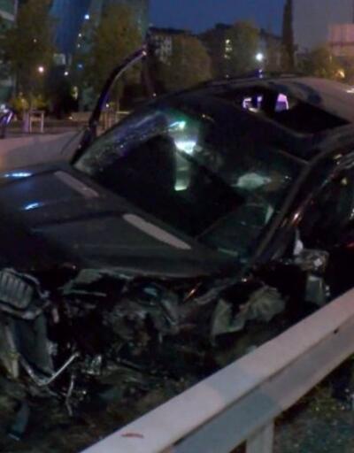 Maltepe'deki 2 kazada, 1'i ağır 2 kişi yaralandı