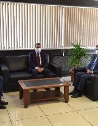 Vali Aktaş'tan Çan Belediye Başkanı Öz'e ziyaret