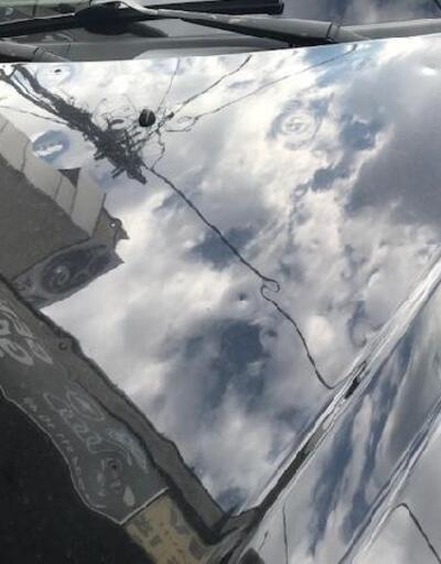 Son dakika.. Dolu nedeniyle hasar alan araçların sahipleri sanayiye akın etti
