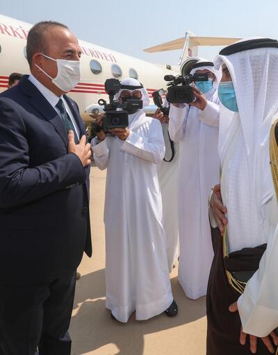 Son dakika... Dışişleri Bakanı Çavuşoğlu Kuveyt'te