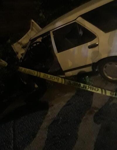 Ordu'da duvara çarpan otomobilin sürücüsü öldü