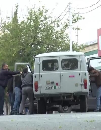 Son Dakika Haberleri: Bakü ordusu ilerliyor, Karabağ'dan göç başladı