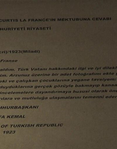 Son Dakika Haberler... Atatürk'ün mektubu yıllar sonra ortaya çıktı