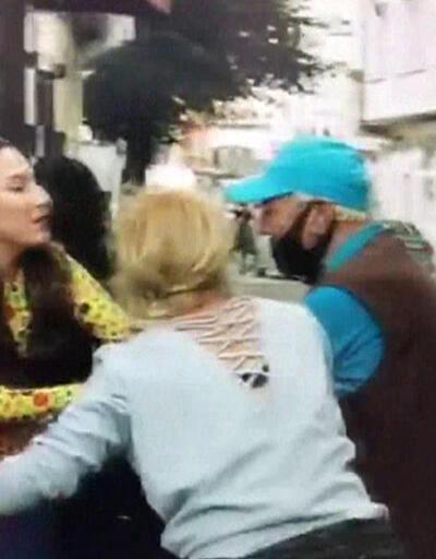 Diziyi gerçek sanan kişi kadını kurtarmaya çalıştı | Video