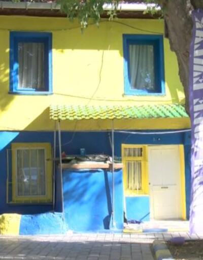 Fenerbahçe aşkı evini sarı-laciverte boyattı