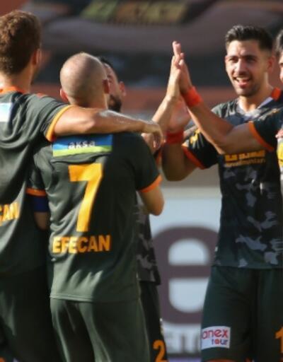 Alanyaspor'dan Hatayspor'a 6 gol