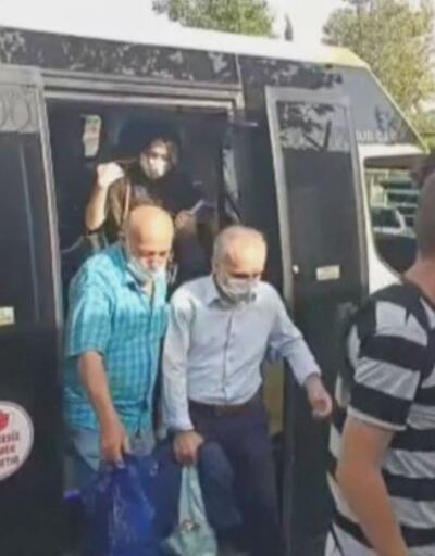 İstanbul'da minibüslerde koronavirüs denetimi