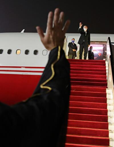 Cumhurbaşkanı Erdoğan Katar'dan ayrıldı