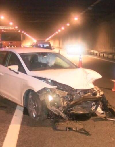 Beşiktaş'ta trafik kazası | Video