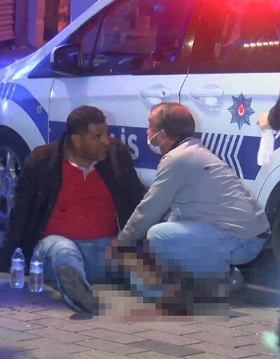 Son Dakika: Taksim'de bıçaklı saldırı | Video