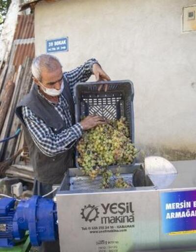 Üzüm üreticilerine makine desteği